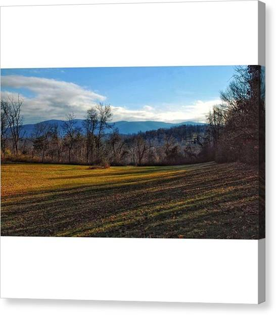 Appalachian Mountains Canvas Print - The Appalachian by Blake Butler