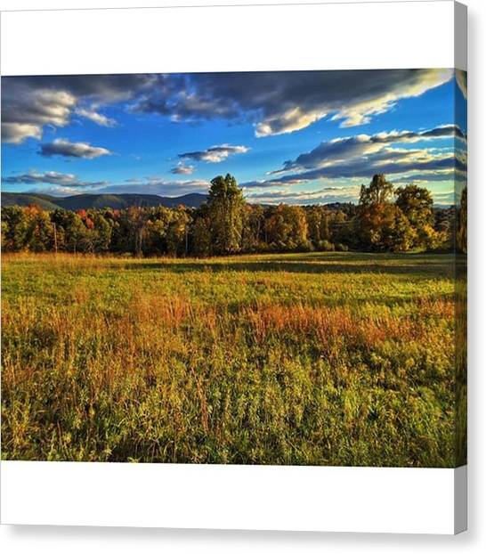 Appalachian Mountains Canvas Print - The Appalachians In The Distance. No by Blake Butler