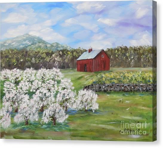 The Apple Farm Canvas Print