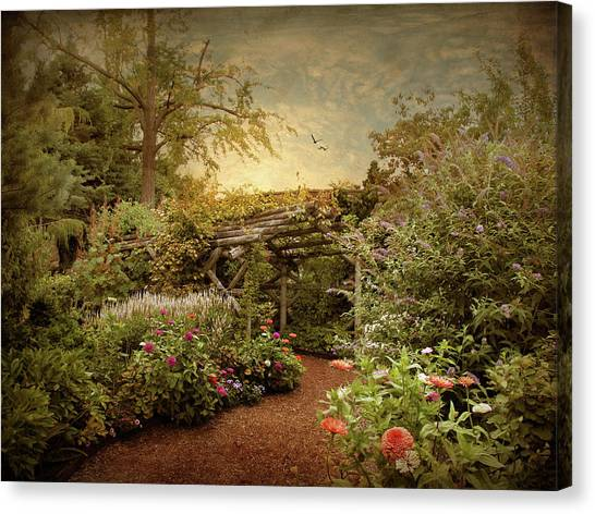 Arbor Canvas Print - The Arbor by Jessica Jenney