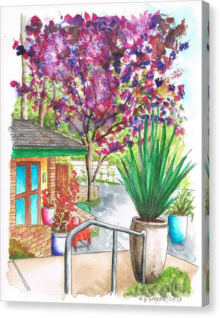 The Arboretum Gift Shop In Arcadia-california Canvas Print