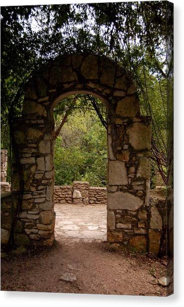 The Arch Canvas Print by Siobhan Yost