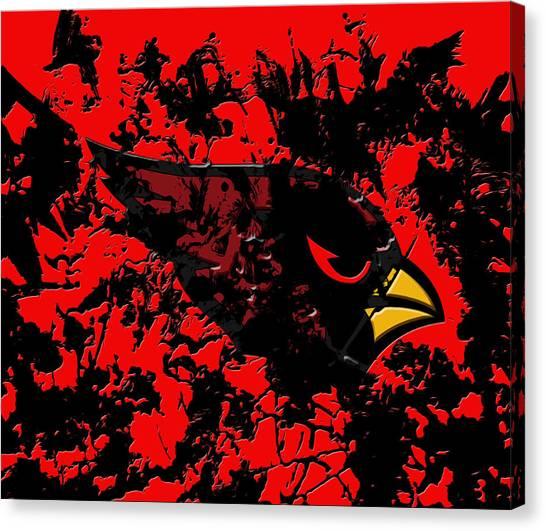 University Of Miami Canvas Print - The Arizona Cardinals by Brian Reaves