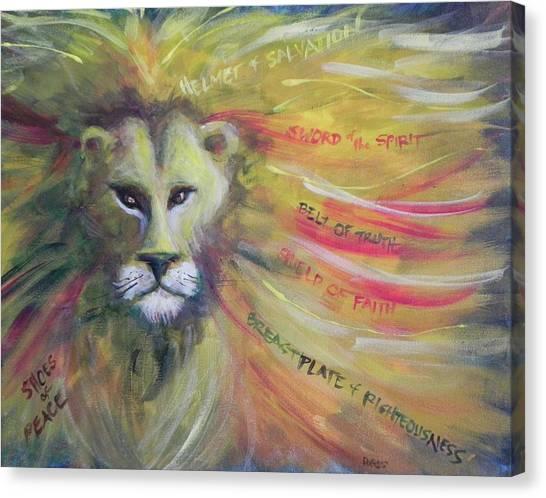 The Armor Of God Canvas Print