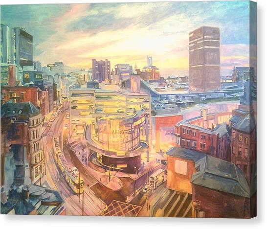 The Arndale Carpark, Manchester Canvas Print