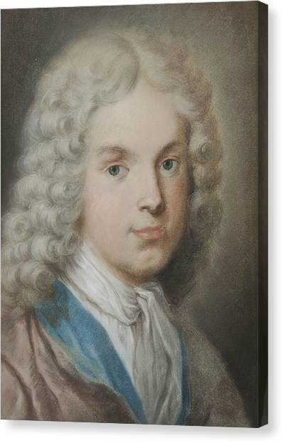 Rococo Art Canvas Print - The Art Collector And Artist Antonio Maria Zanetti The Elder by Rosalba Carriera