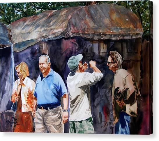 The Art Festival Canvas Print