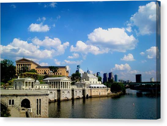 The Art Museum Canvas Print by Andrew Dinh