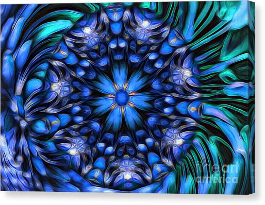 The Art Of Feeling Centered Canvas Print