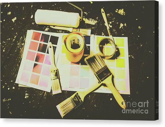 Tools Canvas Print - The Art Of Restoration by Jorgo Photography - Wall Art Gallery