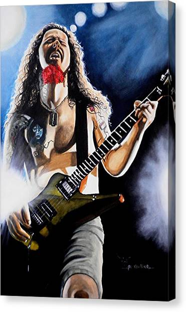 The Art Of Shredding Canvas Print