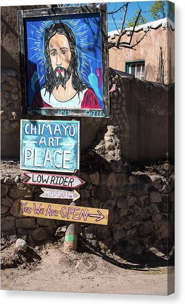 The Art Place In Chimayo Canvas Print