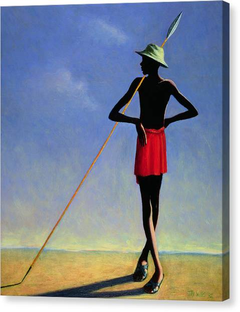 Sahara Desert Canvas Print - The Askari by Tilly Willis