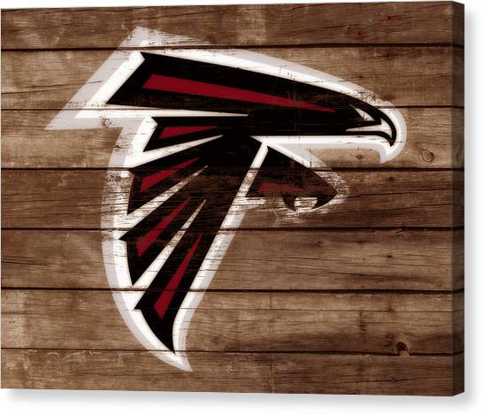 Matt Ryan Canvas Print - The Atlanta Falcons 3b by Brian Reaves