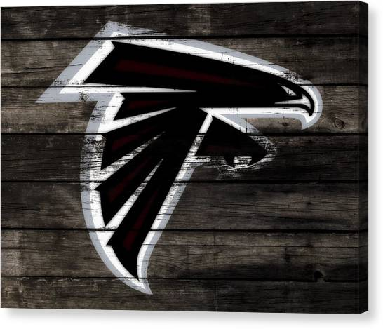 Matt Ryan Canvas Print - The Atlanta Falcons 3c by Brian Reaves