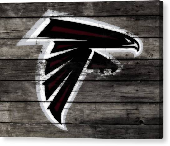 Matt Ryan Canvas Print - The Atlanta Falcons 3e by Brian Reaves