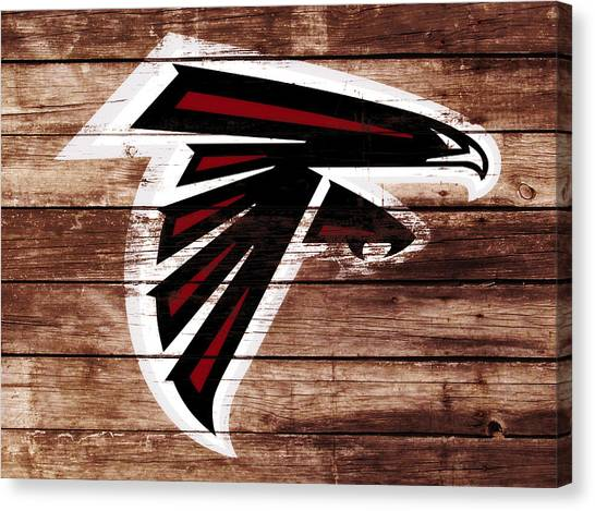 Matt Ryan Canvas Print - The Atlanta Falcons 3f by Brian Reaves