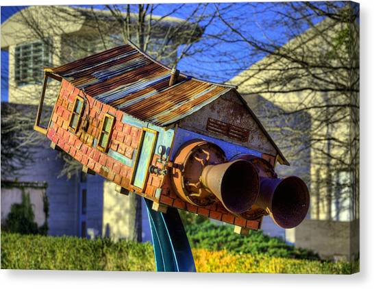 The University Of Alabama Canvas Print - The Auburn Museum Of Fine Art by JC Findley