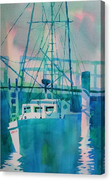 The B Phyllis At Fishermans Wharf Canvas Print
