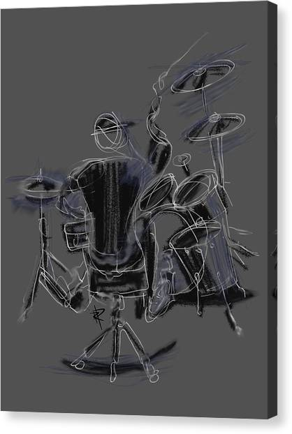 The Back Beat Canvas Print