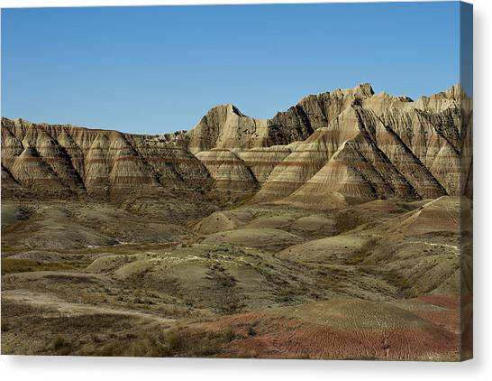 The Bad Lands Canvas Print