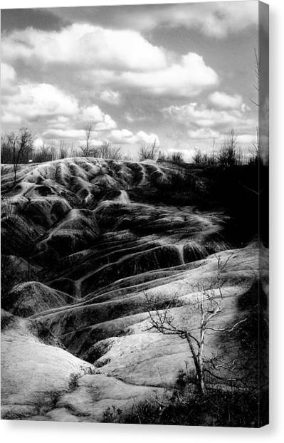 The Badlands 2 Canvas Print by Cabral Stock