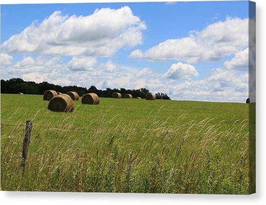 The Bales Of Summer 2 Canvas Print
