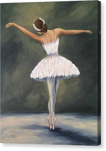 The Ballerina V Canvas Print