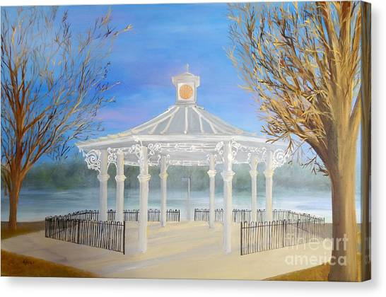 The Bandstand Basingstoke War Memorial Park Canvas Print
