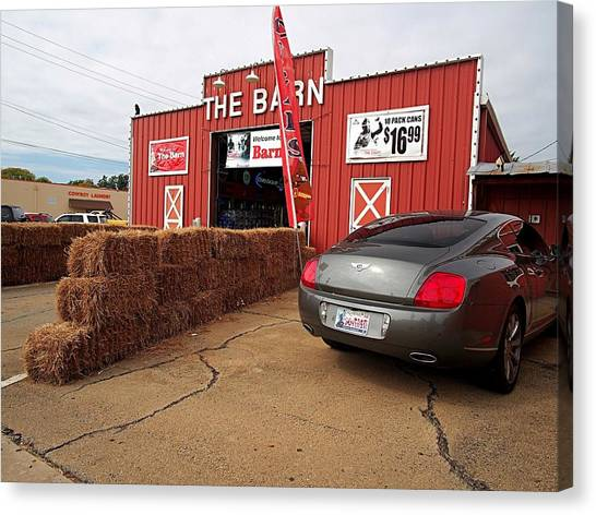 Oklahoma State University Canvas Print - The Barn by Buck Buchanan