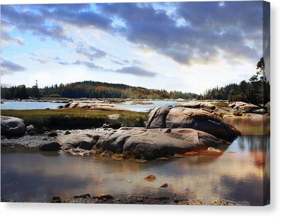 The Basin, Vinalhaven, Maine Canvas Print
