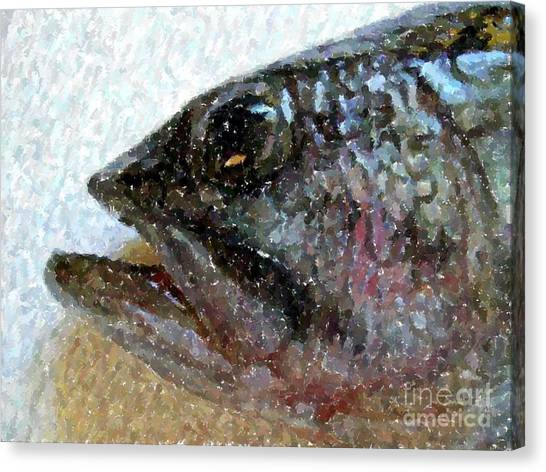 The Bass Canvas Print