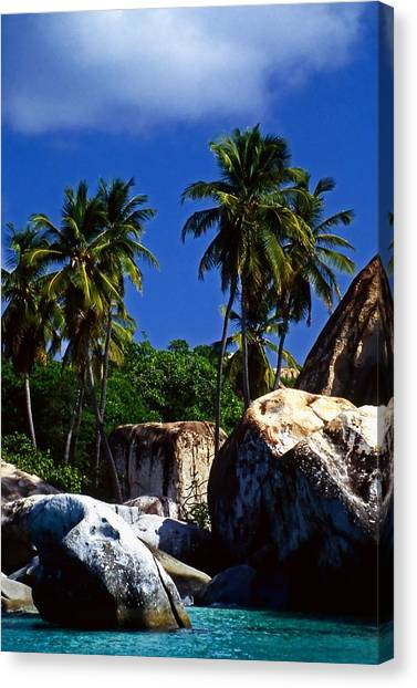 The Baths. British Virgin Islands Canvas Print
