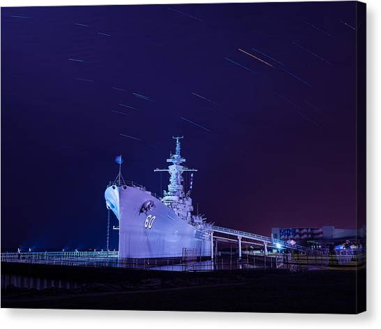 The Battleship Canvas Print
