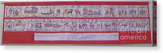 The Bayeux Tapistery Canvas Print