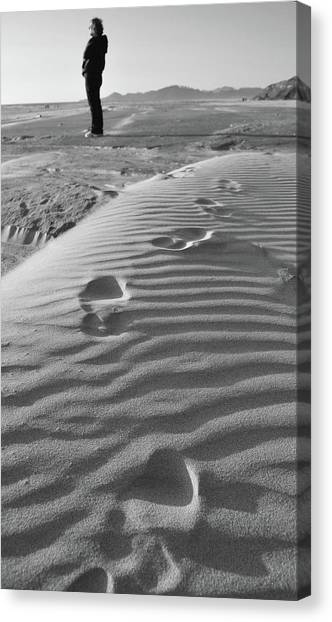 The Beach Comber Canvas Print