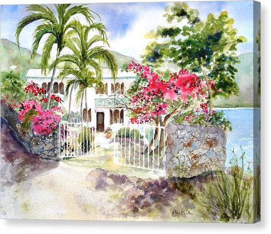 The Beach House Canvas Print