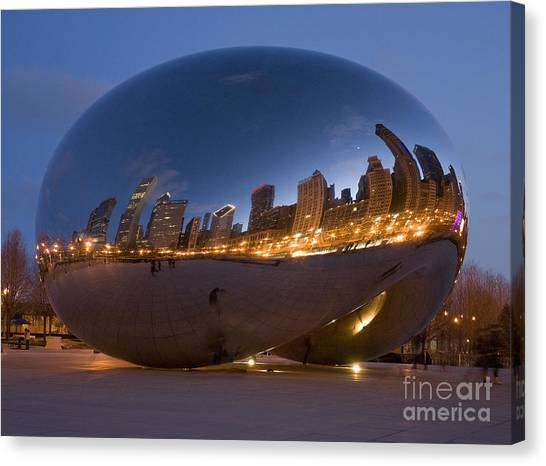The Bean - Millenium Park - Chicago Canvas Print by Jim Wright