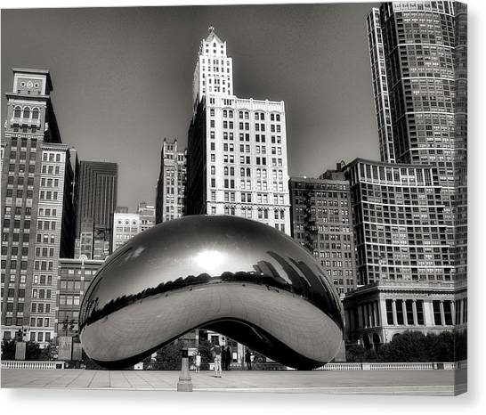 Grant Park Canvas Print - The Bean - 3 by Ely Arsha