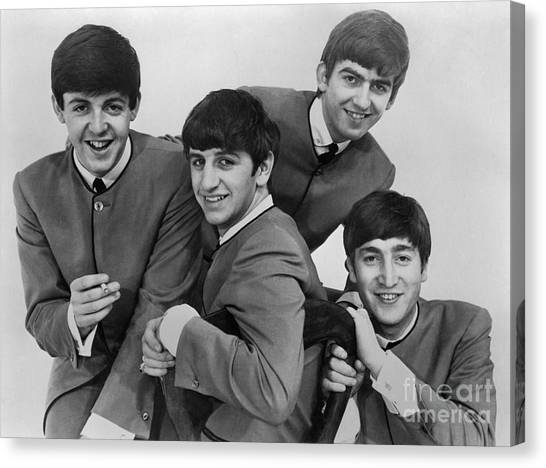 The Beatles, 1963 Canvas Print