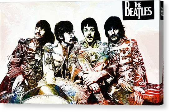 The Beatles--sargent Peppers Lonely Hearts Club Band Canvas Print