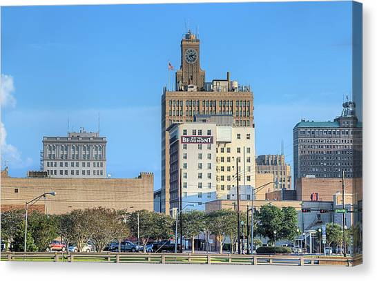 The Beaumont Skyline Canvas Print by JC Findley