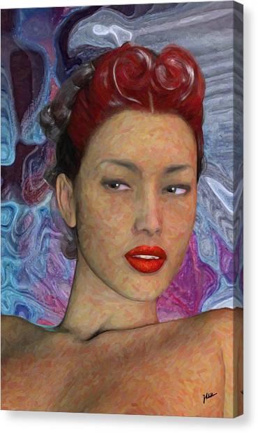 Venezuelan Canvas Print - The Beautiful Venezuelan by Joaquin Abella