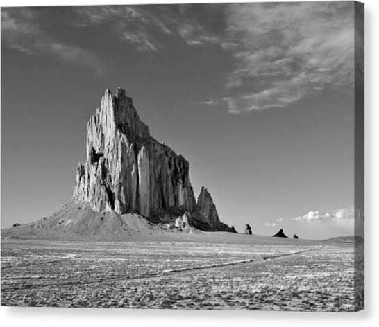 The Beauty Of Shiprock Canvas Print