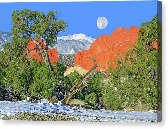 The Beauty That Takes Your Breath Away And Leaves You Speechless. That's Colorado.  Canvas Print