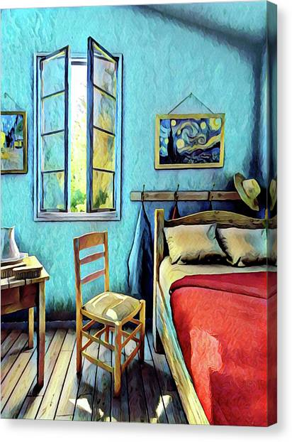 The Bedroom Canvas Print