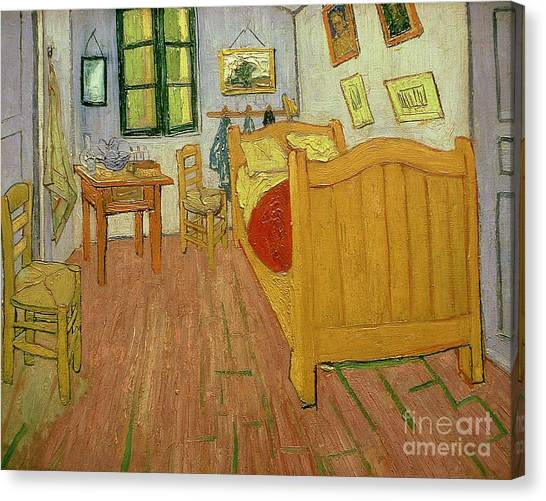 Tables Canvas Print - The Bedroom by Vincent van Gogh