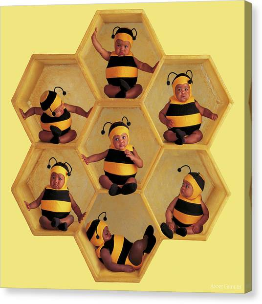 Canvas Print - The Beehive by Anne Geddes