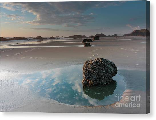 Unique View Canvas Print - The Beginning Of Autumn by Masako Metz