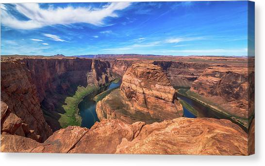 The Bend Canvas Print